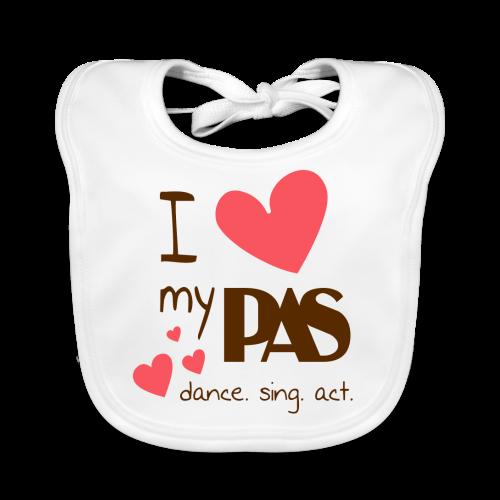 I love my PAS - Baby Bio-Lätzchen