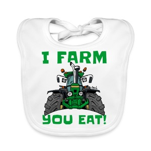 I farm you eat jd - Bio-slabbetje voor baby's