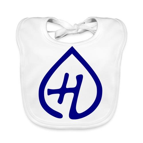 Hangprinter logo - Ekologisk babyhaklapp