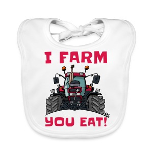 I farm you eat case - Bio-slabbetje voor baby's