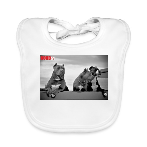 pitbull-ROHD - Baby Bio-Lätzchen