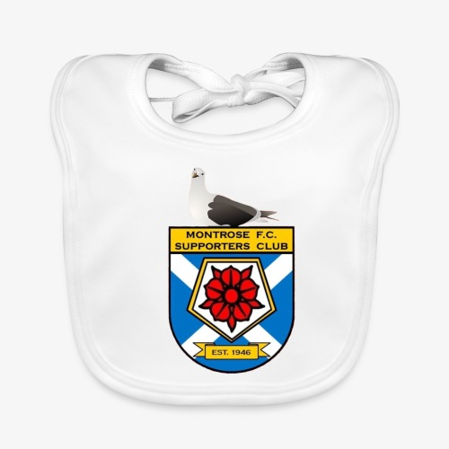 Montrose FC Supporters Club Seagull - Baby Organic Bib