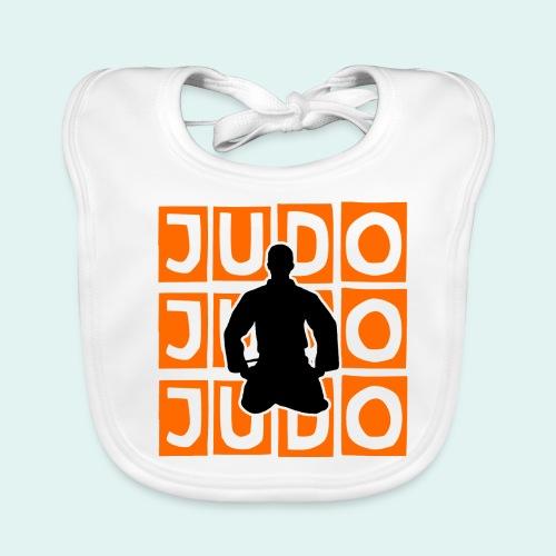 Motiv Judo Orange - Baby Bio-Lätzchen