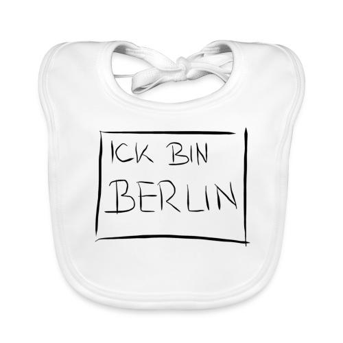 ICK BIN BERLIN - Baby Bio-Lätzchen