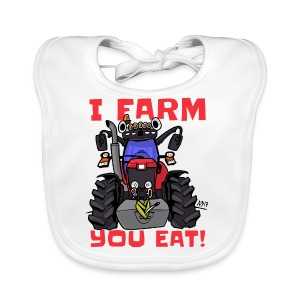 I farm you eat mf - Bio-slabbetje voor baby's