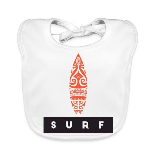 Surfing Hero by Te-Moana - Baby Bio-Lätzchen