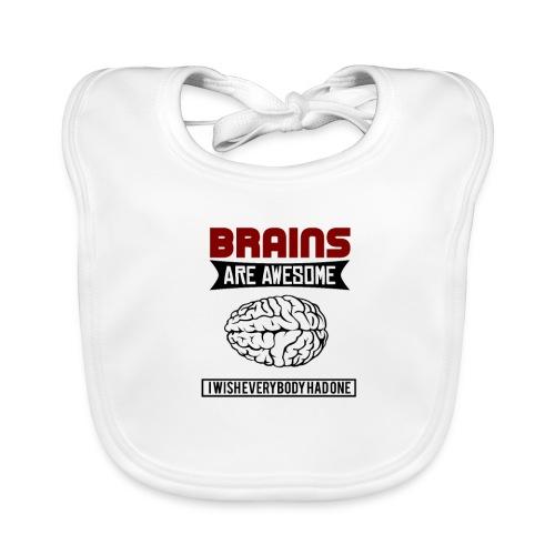Brain - Gehirn - Baby Bio-Lätzchen
