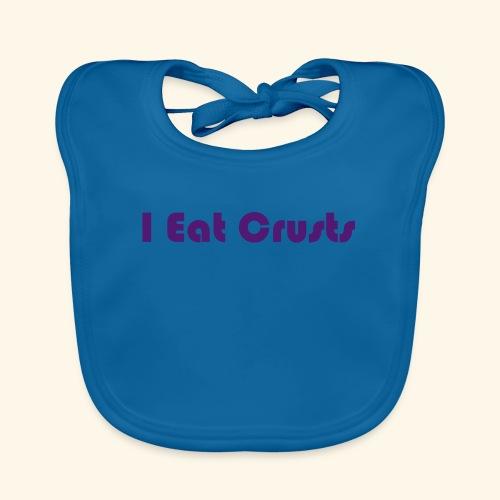 I Eat Crusts - Cool Kids Clobber. - Baby Organic Bib
