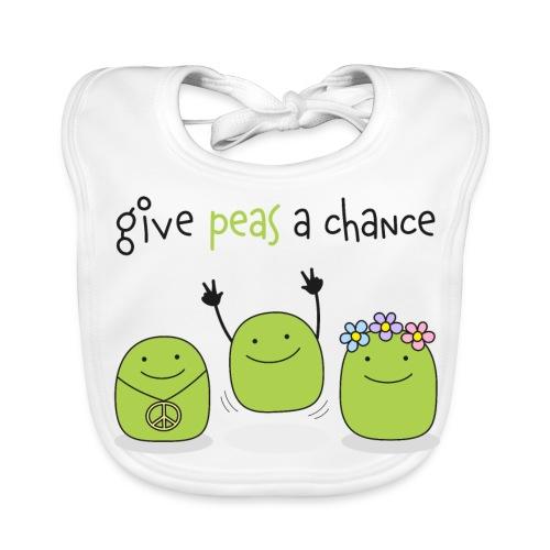 Give peas a chance! - Baby Bio-Lätzchen