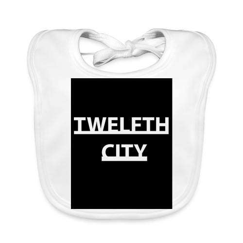 Twelfth City Black - Baby Organic Bib