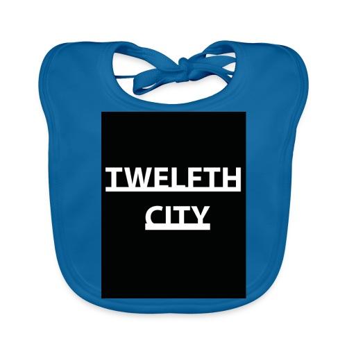 Twelfth City Black - Baby Organic Bib