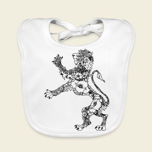Wappen Löwe - Baby Bio-Lätzchen