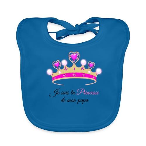 princesse de Papa - Bavoir bio Bébé