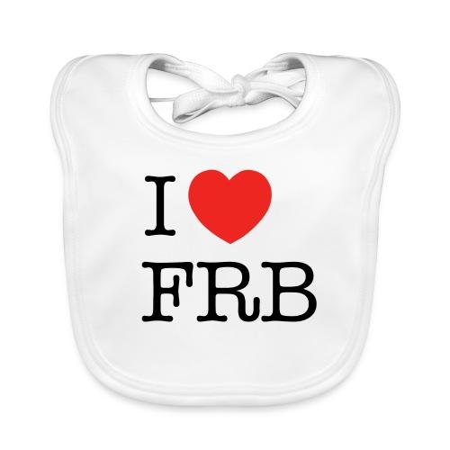 I Love FRB - Baby økologisk hagesmæk