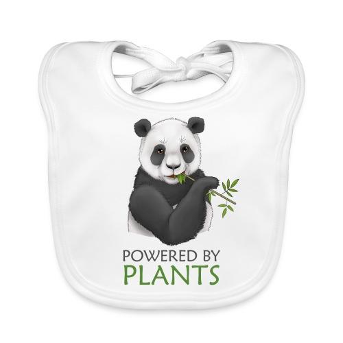 Panda 2 Plantbased - Ekologisk babyhaklapp