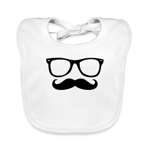 Moustache - Bavoir bio Bébé