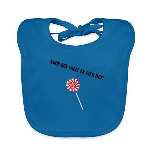 Kioop_een_lolly_en_vier_het - Bio-slabbetje voor baby's