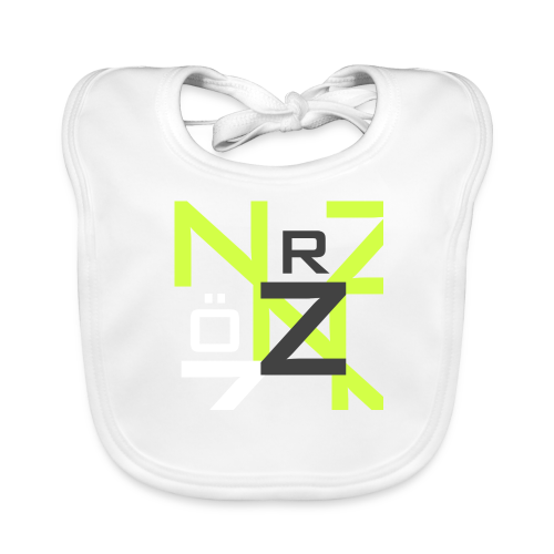 Nörthstat Group™ Clear Transparent Main Logo - Baby Organic Bib
