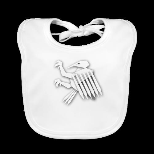 Nörthstat Group ™ White Alaeagle - Baby Organic Bib