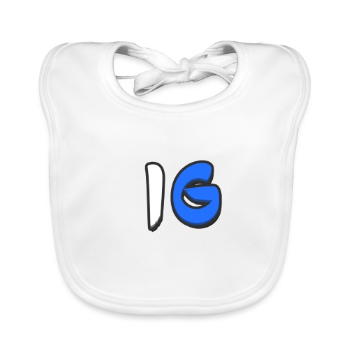 Offical Coloured Design - Baby Organic Bib