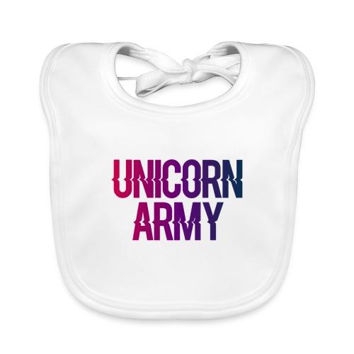 UnicornArmyLogo - Baby Bio-Lätzchen