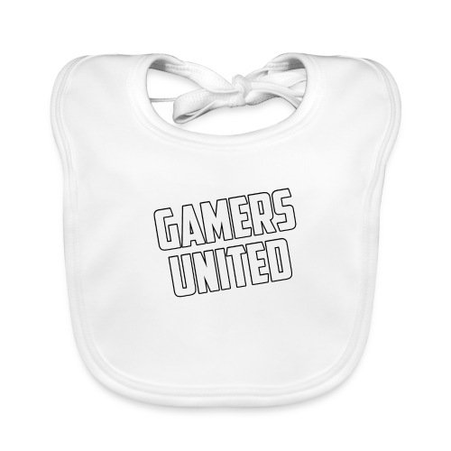 Gamers United - Baby Organic Bib