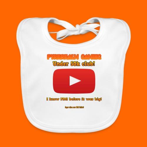 PRG 50k Tshirt - Baby Organic Bib