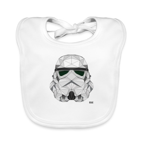 stormtrooper logo - Bavoir bio Bébé