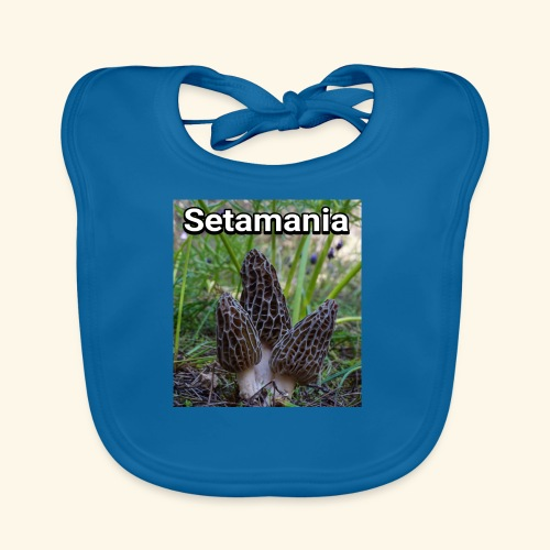 Colmenillas setamania - Babero ecológico bebé