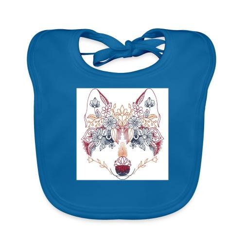 Wolf Wow - Babero ecológico bebé