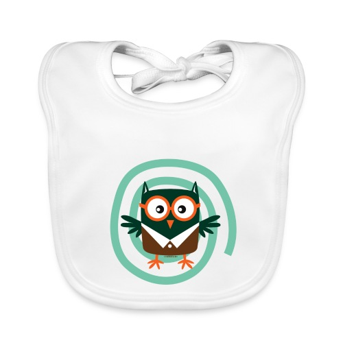 FP10-54 SCHOOL OWL - TEXTILE AND GIFT PRODUCTS - Vauvan ruokalappu