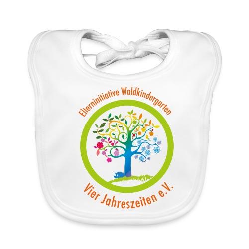 Waki Logo cmyk mitSchrift - Baby Bio-Lätzchen