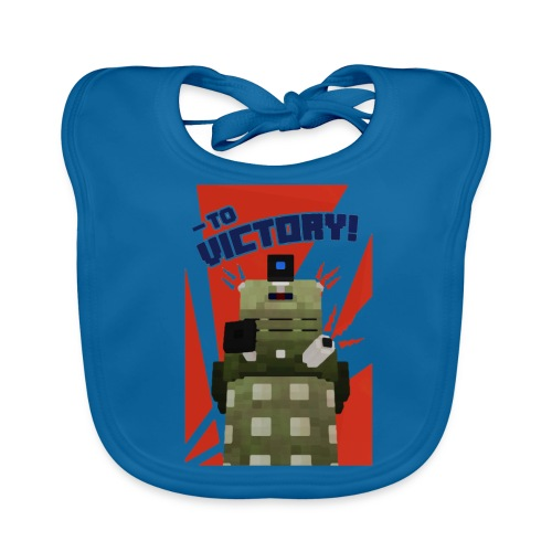 Dalek Mod - To Victory - Baby Organic Bib