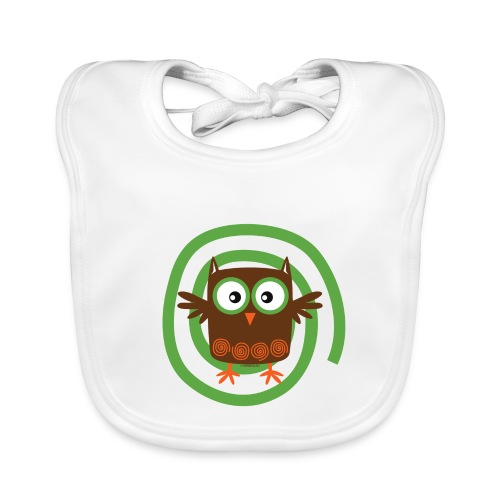 FP10-53 ORGANIC OWL - TEXTILE AND GIFT PRODUCTS - Vauvan ruokalappu