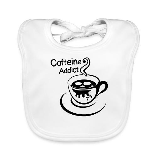 Caffeine Addict - Bio-slabbetje voor baby's