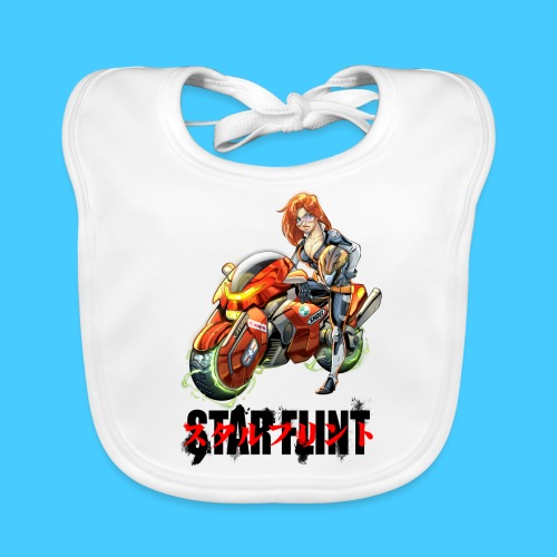 StarFlint Trixie - Bavoir bio Bébé