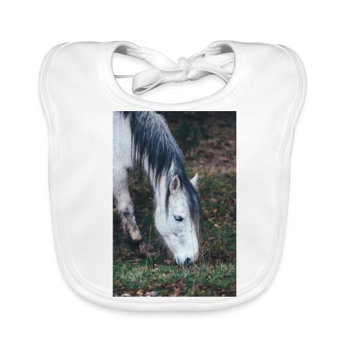 Pferde Hülle - Baby Bio-Lätzchen
