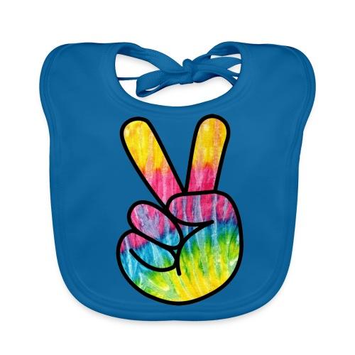 Peace Out Dude - Baby Organic Bib