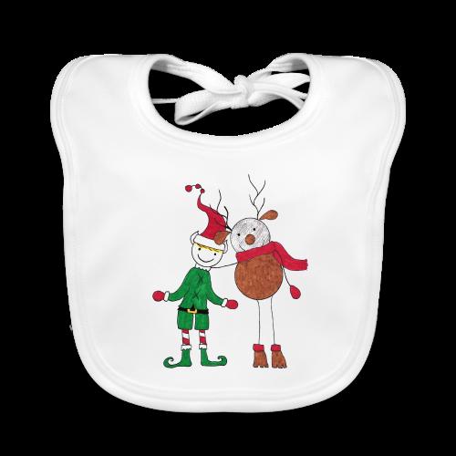 Elfo e Renna di Nonna Catia - Bavaglino