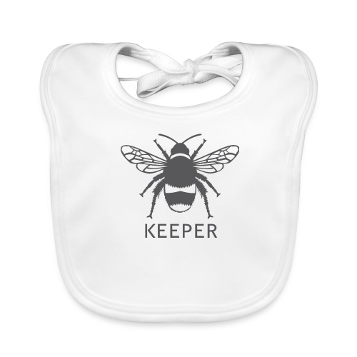 Bee Keeper - Baby Organic Bib