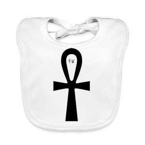 Anch - Symbol für (ewiges) Leben - Baby Bio-Lätzchen