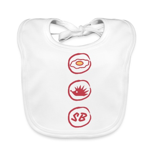 Up The Birds - Baby Organic Bib