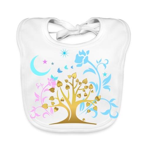 Mystic Tree - Baby Bio-Lätzchen