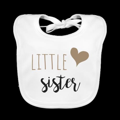 little sister - Baby Bio-Lätzchen