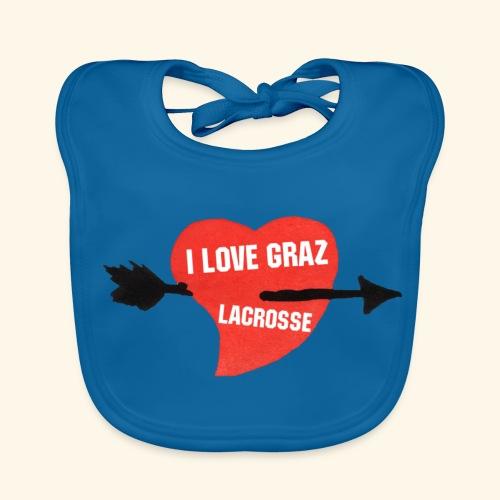 I LOVE GRAZ LACROSSE - Baby Bio-Lätzchen