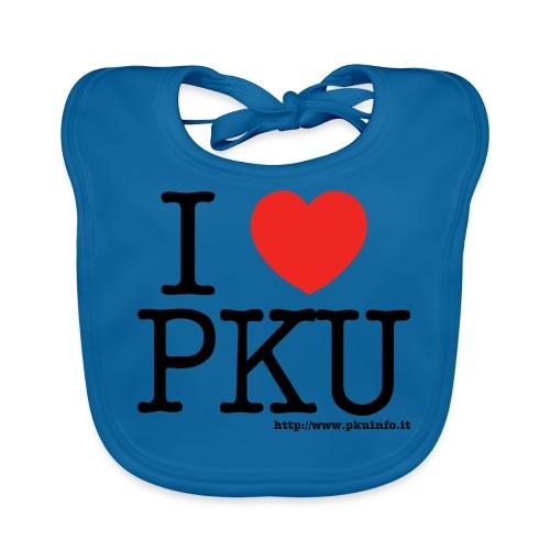 I love PKU - Bavaglino ecologico per neonato