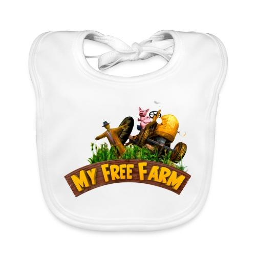 My Free Farm Traktor - Baby Bio-Lätzchen