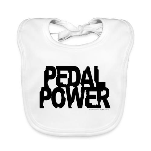 pedalpower8 - Baby Organic Bib