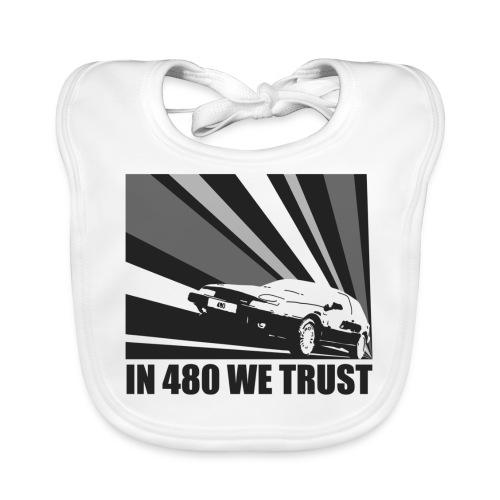 In 480 we trust - Bavoir bio Bébé
