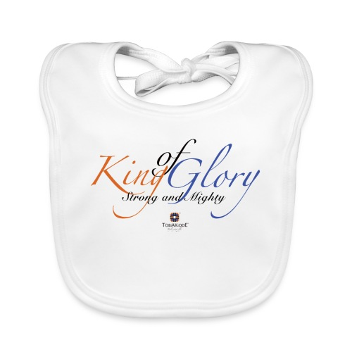 King of Glory by TobiAkiode™ - Organic Baby Bibs